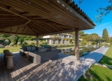 rent villa bellazard tahiti st tropez pool house