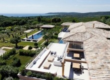 rent villa bellazard tahiti st tropez property