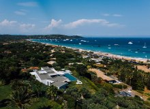 villa for rent pampelonne beach ama bird view