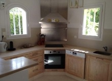 Rent Villa Lauriers Saint Tropez Kitchen