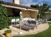 Rent Villa Lauriers Saint Tropez Poolhouse