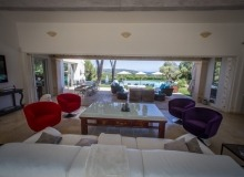 Rent Luxury Villa Ama Ramatuelle Escalet Pampelonne Saint Tropez Beach Living room
