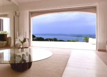 Rent Luxury Villa Rokko Tahiti Living room seaview
