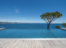Rent Luxury Villa Kintaparc Saint Tropez swimming pool seaview