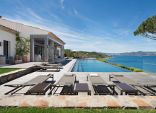 Rent Luxury Villa Kintaparc Saint Tropez terrace