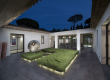 Rent Luxury Villa Kintaparc Saint Tropez Open Inner courtyard