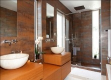 Rent Villa Marvellous Saint Tropez Beach Bathroom