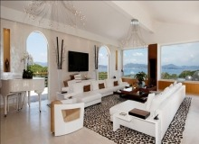 Rent Villa Marvellous Saint Tropez Beach Living room