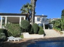rent villa davpam ramatuelle pampelone beach swimming pool