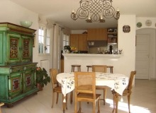 rent villa foustt st tropez center open kitchen