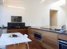 rent villa madelaine tahiti st tropez open kitchen