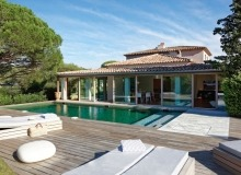 let villa madelaine tahiti st tropez swimming pool