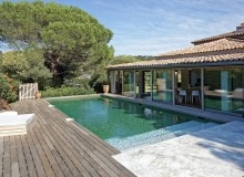 rent villa madelaine tahiti st tropez swimming pool