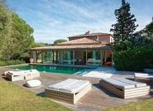 holiday rental villa madelaine tahiti st tropez swimming pool