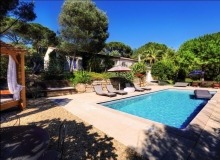 holiday rental villa mirpam pampelonne heated swimming pool