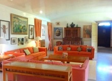 rent villa les parcs de saint tropez living room
