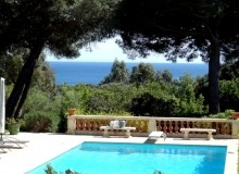 rent villa les parcs de saint tropez sea view