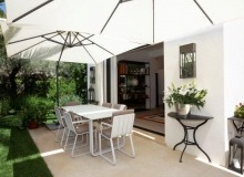 rent villa mariana st tropez route des carles outdoor terrace