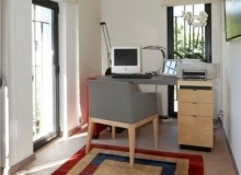 rent villa mariana st tropez route des carles office room