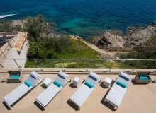 rent villa waters edge saint tropez terrace