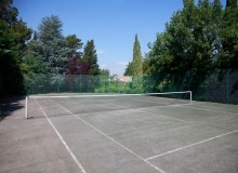 rent villa chesaine st tropez sainte anne tennis court