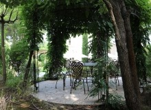 villa for rent st tropez domaine de la castellane villa hollanda outdoor dining area