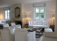 villa for rent st tropez domaine de la castellane villa hollanda living room