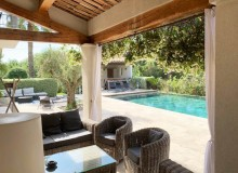villa for rent lei marres st tropez route des plage terrace pool
