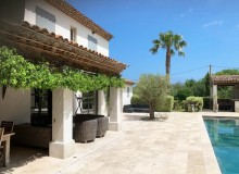 villa for rent lei marres st tropez route des plage terrace