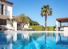 villa for rent lei marres st tropez route des plage swimming pool