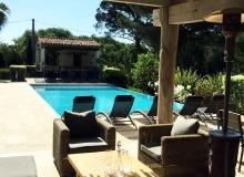 villa for rent st tropez route des plage villa lei mares pool house