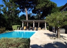 villa for rent st tropez route des plage villa lei mares swimming pool