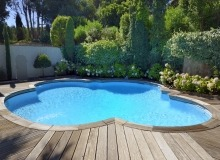 villa for rent les parcs de st tropez royal palm swimming pool