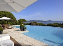 villa for rent les parcs de st tropez royal palm sea view swimming pool