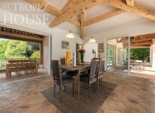 villa for let tahiti st tropez villa tabou living area