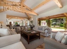 villa for rent tahiti st tropez villa tabou living room