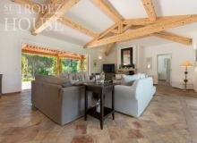 villa for rent tahiti st tropez villa tabou living area