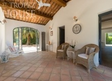villa for rent les parcs de st tropez villa june parc covered terrace