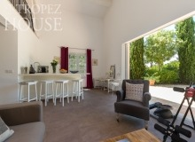 villa for rent les parcs de st tropez villa june parc living area