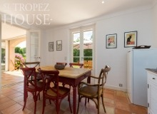villa for rent les parcs de st tropez villa june parc kitchen