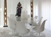 villa for rent les salins st tropez villa casa a dining area