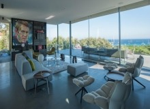 villa for let pampelonne beach vertige living area