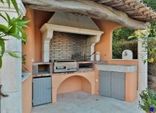 villa for rent in pampelonne villa sassari bbq