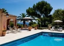 villa for rent in pampelonne villa sassari swimming pool