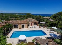 villa for rent in pampelonne villa sassari bird view