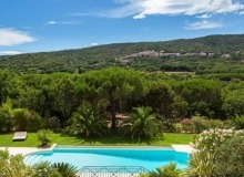 rent villa ramatuelle outdoor view