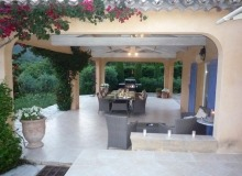 rent villa ramatuelle outdoor terrace
