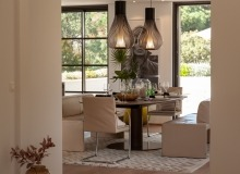 villa for rent le parcs des st tropez agape dining area
