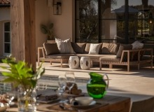 villa for rent le parcs des st tropez agape covered terrace