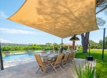villa for rent st tropez chianti outdoor dining area